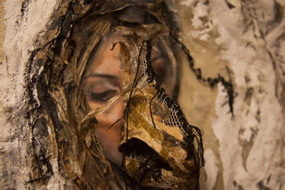 "Detail from ""Shroud,"" Fall 2012, Negin Sharifzadeh"