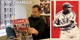 Illustrator and DC omics Art director,Mark Chiaorello