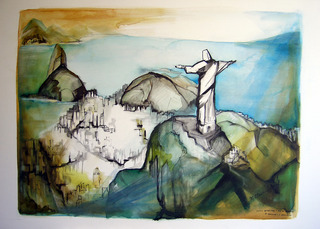 "O Cristo Redentor (""Christ, the Redeemer""), Maria Clarice Sarraf"