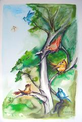 """Passarim IV (""""Birdie IV""""), Maria Clarice Sarraf"""