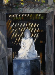 Buddha Revealed; Huntington Gardens,Peter Adams