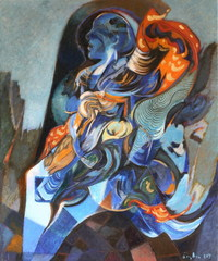 Blue Woman, Necmettin Ozlu