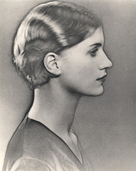 Solarised Portrait of Lee Miller, Man Ray