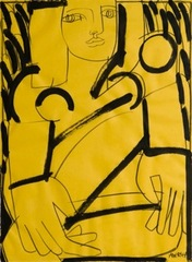 Woman in Yellow, america martin