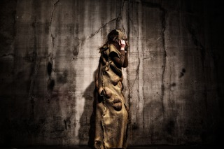 Tonyanna Borkovi as Princess Ivona, textile design by Latifa Medjdoub, Jamie Lyons