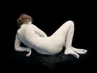 Audrey with Toes and Wrist Bent,Nadav Kander