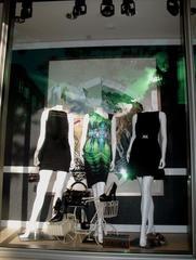 Hayden Wearing Gucci Window, Nora K. M. Sands