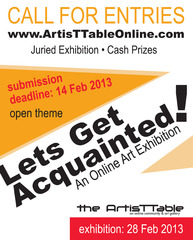 Lets Get Acquainted! - CALL for ENTRIES,