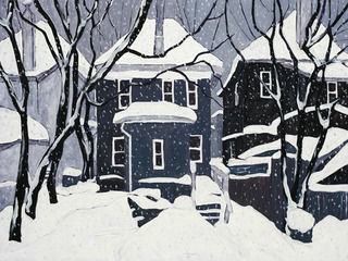SNOW AND DARK HOUSES  ,RFM McInnis