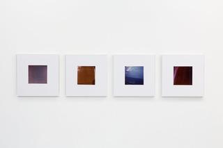 exhibition view, Jan Dibbets