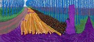 Winter Timber,David Hockney