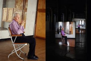 """Merce Cunningham performs STILLNESS... (six performances, six films), 2008"",Tacita Dean"