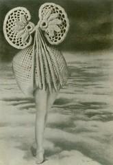 Au dessus des nuages marche la minuit, Max Ernst