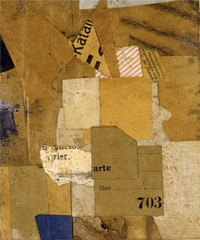 Untitled (Katan or 703),Kurt Schwitters