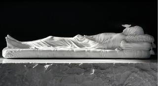 Gisant (Recumbent effigy of Elizabeth Crosby), Jan Fabre