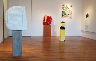 exhibition view,Allison Miller, Stacy Fisher