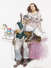 Dame with the Goat\'s Foot (I) , Paula Rego