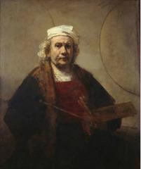 Portrait of the Artist , Rembrandt van Rijn