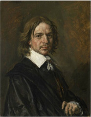 Portrait of an Unknown Man,Frans Hals