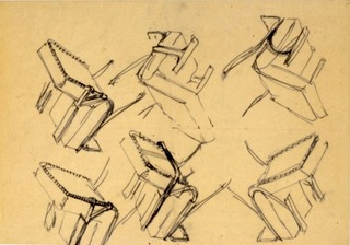 Design for Chair for Metz & Co,