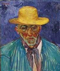 Portrait of a Peasant (Patience Escalier),Vincent Van Gogh