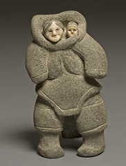 Mother and Child,Sheokjuk Oqutaq
