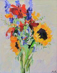 Flower Study, Sandra Pratt