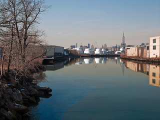 Between the Boroughs on the Newtown Creek, Brooklyn and Queens,NY., Roger Generazzo