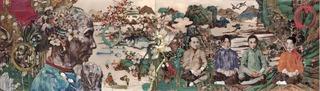 Peach Blossom Spring V, Hung Liu