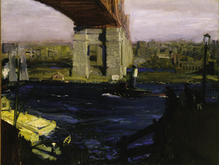 The Bridge, Blackwell\'s Island , George Wesley Bellows