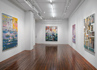 Installation View, Jackie Gendel