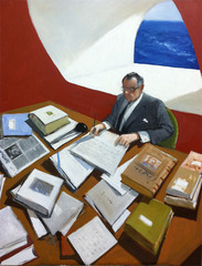 The Writer,Julio Larraz