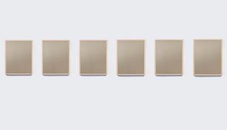 Bronze Mirror 1-6 , Sherrie Levine