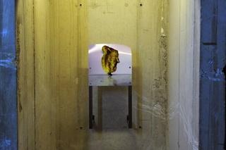 """Vue de l\'exposition monographique de Neil Beloufa """"Les Inoubliables prises d\'autonomie"""", dans le cadre de la saison \'Imaginez l\'Imaginaire"""" , Neïl Beloufa"""