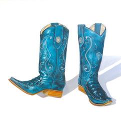 El Feo\'s Sting Rey Boots, Terry Romero Paul