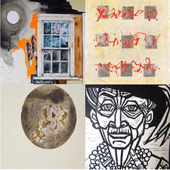 Nuances:  Composite image of work by Freda, Goodell, Murray & Skoczek,
