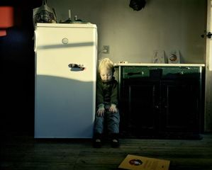 At the Fridge, from the series Home Works,Joakim Eskildsen