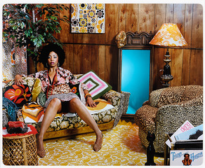 Lovely Six Foota, Mickalene Thomas