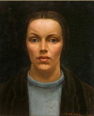 Self portrait , Nora Heysen