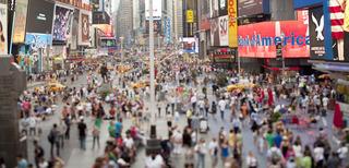 Times Square, Susan Wides