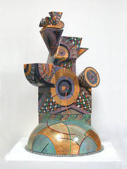 Untitled Covered Vessel,Ralph Bacerra