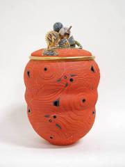 Untitled Lidded Vessel, Ralph Bacerra