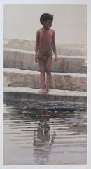 """""""Bathing Ghat"""" , Allen Smutylo"""