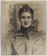 Portrait of Minnie Clark, J. Carroll Beckwith