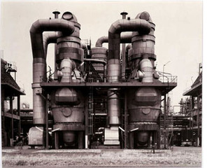 Plant for Styrofoam Production, Wesseling near Cologne, Germany,Bernd and Hilla Becher