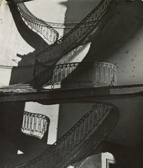 Bombed Regency Staircase, Upper Brook Street, Mayfair, Bill Brandt