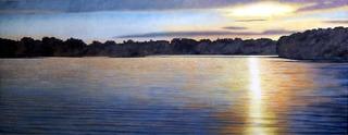 Sunrise Wisconsin Lake, E. Dale Erickson
