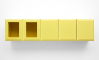 Untitled (SP Yellow Cabinet), Elad Lassry