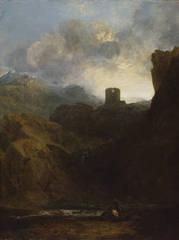 Dolbadern Castle, JMW Turner