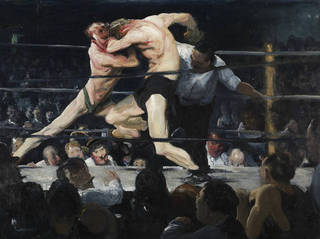 Stag at Sharkey\'s, George Bellows